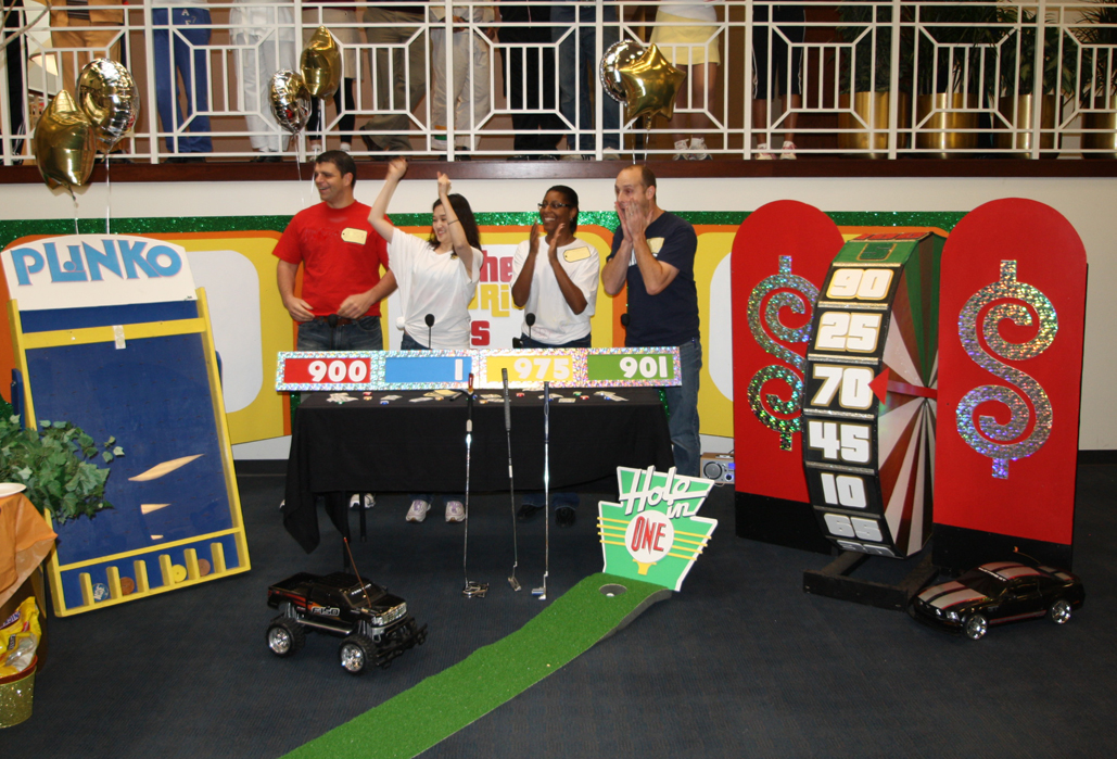 Price is Right Game show set